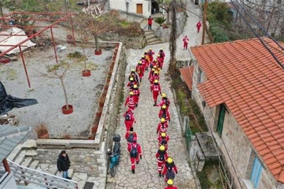 Ερυθρός Σταυρός: Εκπαίδευση εθελοντών στο Λειβάρτζι