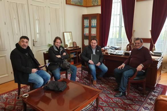 Ολοκληρώθηκε η συνάντηση του ΣΚΕΑΝΑ με τον Δήμαρχο Πατρέων