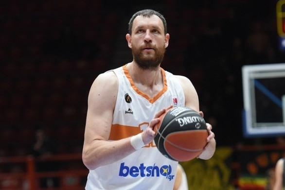 Ο Λ. Μαυροκεφαλίδης MVP της αγωνιστικής στο EuroCup
