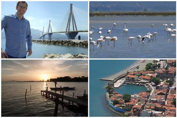 """Γερμανικό κανάλι """"ταξιδεύει"""" στην Ελλάδα - Πλάνα από Ρίο, Ναύπακτο & Μεσολόγγι! (video)"""