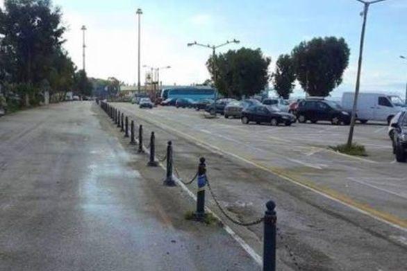 """Πάτρα: Xωρίς λεωφορείο το πάρκινγκ """"Γ. Καλεντζώτης"""""""