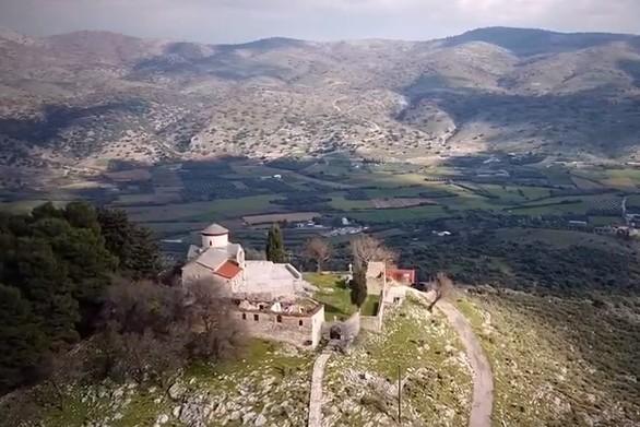 Το εντυπωσιακό μοναστήρι του Προφήτη Ηλία στο Καραϊσκάκη Ξηρομέρου! (video)