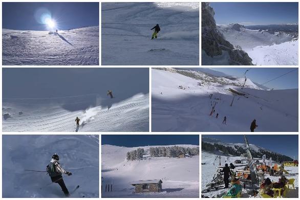 Ένα διήμερο στο Χιονοδρομικό των Καλαβρύτων - Δείτε βίντεο