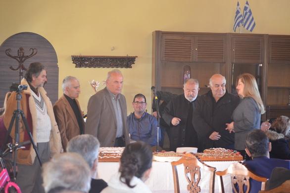 Ο Εξωραϊστικός Οικιστικός Σύλλογος Κουρούτας Άγιος Αθανάσιος έκοψε την πρωτοχρονιάτικη πίτα του (pics)