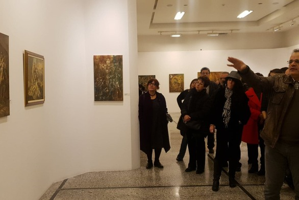 Πάτρα: Τελευταία ανοιχτή ξενάγηση για το κοινό, στο έργο του ζωγράφου Γρηγόρη Παπαθεοδώρου