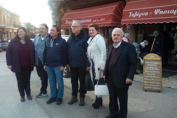 """Ο Πρέσβης της Ουκρανίας στα Καλάβρυτα με τον """"Φάρο"""""""