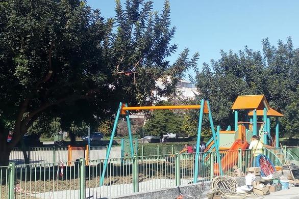Νέα παιδική χαρά στην πλατεία Παπανδρέου της Πάτρας (φωτό)