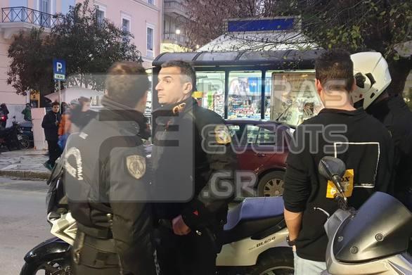 Πάτρα: Επεισόδιο με οπαδούς ομάδας σε κατάστημα εστίασης στην πλατεία Όλγας (φωτο)