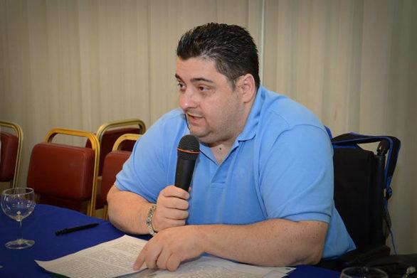 """Αντώνης Χαροκόπος: """"Στο νέο ασφαλιστικό νομοσχέδιο πρέπει να προστατευτούν τα άτομα με αναπηρία και οι οικογένειές τους"""""""