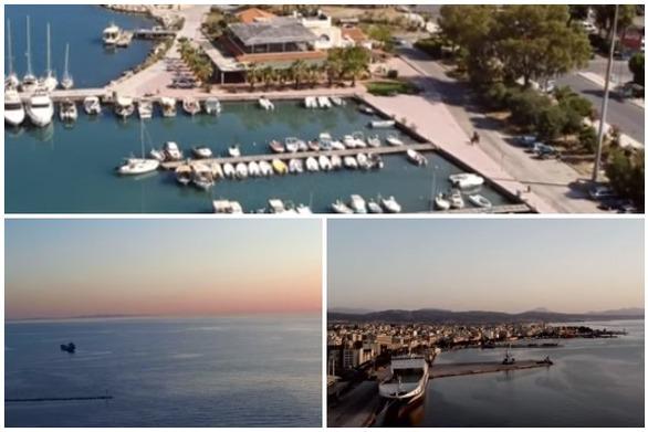 Πάτρα - Μια εναέρια διαδρομή που ανοίγει την όρεξη για... θάλασσα (video)