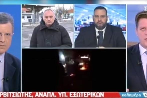 """Μιλτιάδης Βαρβιτσιώτης: """"Ο εκβιασμός Ερντογάν στο προσφυγικό δεν θα περάσει"""""""