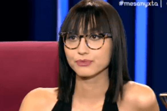 Ελευθερία Καρναβά - Η αινιγματική ατάκα για τον σύντροφό της (video)