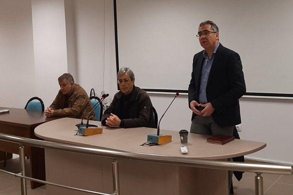 Δήμος Ερυμάνθου - Σύσκεψη για τον περιορισμό μετάδοσης του κορωνοϊού (φωτο)
