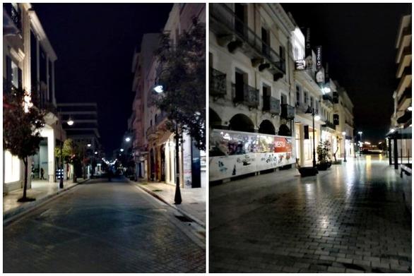 Πάτρα - Μοναχικό περπάτημα στη Ρήγα Φεραίου και την Αγίου Νικολάου!