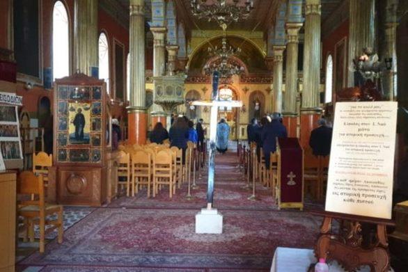 Πάτρα: Εκκλησία λειτούργησε κανονικά και με συμμετοχή πιστών