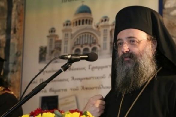 Ξεκάθαρος ο Μητροπολίτης Πατρών για την εκκλησία που λειτούργησε την 25η Μαρτίου