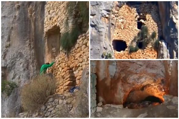 Ηλεία - Πεζοπορία στην ιστορική καστροσπηλιά Τουρκοπαναγή (video)