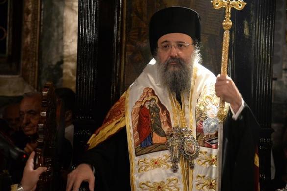 Μητροπολίτης Πατρών Χρυσόστομος: «Η Θεία Κοινωνία δεν μεταδίδει τον κορωνοϊό»