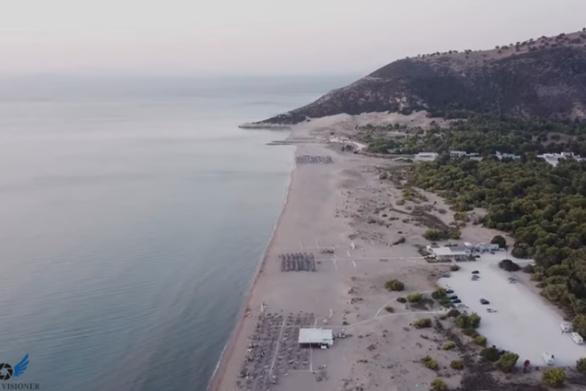 Πανέμορφες παραλίες από ψηλά - Πλάνα από τη δική μας Καλόγρια! (video)