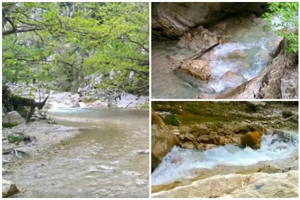 Πηγές Αγίου Βάρβαρου Τρύφου: Ο... παράδεισος της Αιτωλοακαρνανίας με τους καταρράκτες (video)