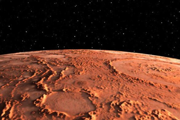 Ενδείξεις ότι ένας μεγάλος ποταμός κυλούσε επί 100.000 χρόνια στον πλανήτη Άρη