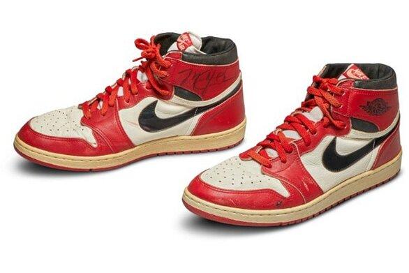 Σε δημοπρασία παπούτσια του Michael Jordan