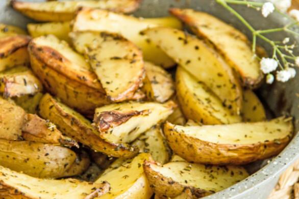 Συνταγή για φανταστικές πατάτες φούρνου, χωρίς λάδι