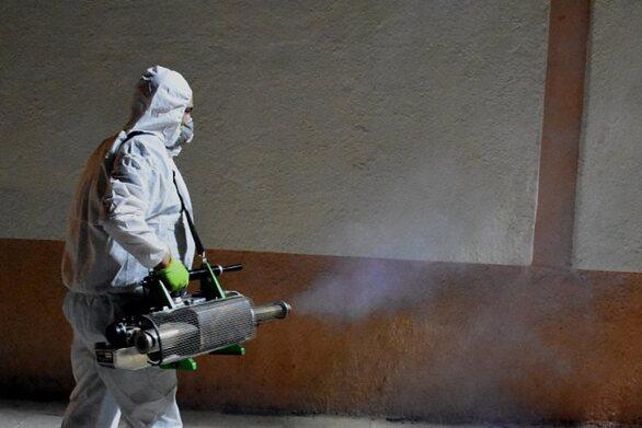 Πάτρα: Απολύμανση στην έδρα του ΔΗΠΕΘΕ στο Μπάρρυ