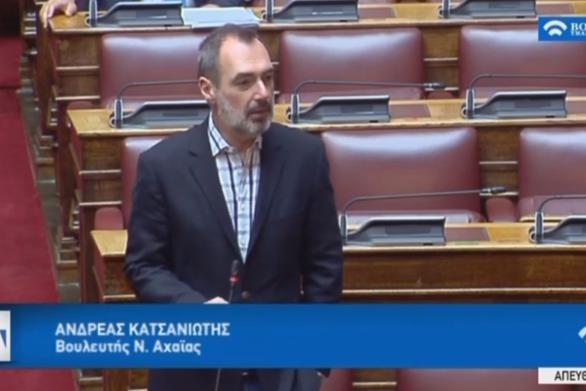 """Ανδρέας Κατσανιώτης: """"Η ενίσχυση του τουριστικού κλάδου να συνδυαστεί με ενίσχυση των ελληνικών προϊόντων διατροφής"""" (video)"""