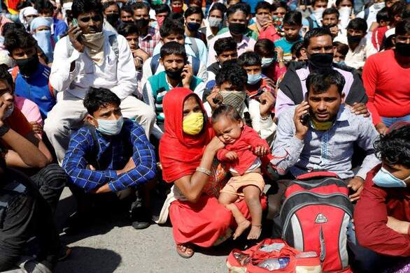 Η Ινδία μεταξύ των 10 χωρών που έχουν πληγεί περισσότερο από την πανδημία