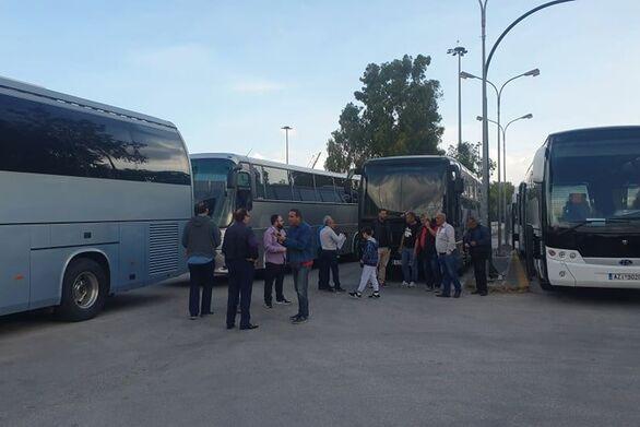 Πάτρα: Κινητοποίηση από τους ιδιοκτήτες τουριστικών λεωφορείων