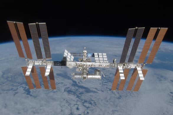 Το πέρασμα του διεθνούς διαστημικού σταθμού ISS από την Πάτρα (φωτό)