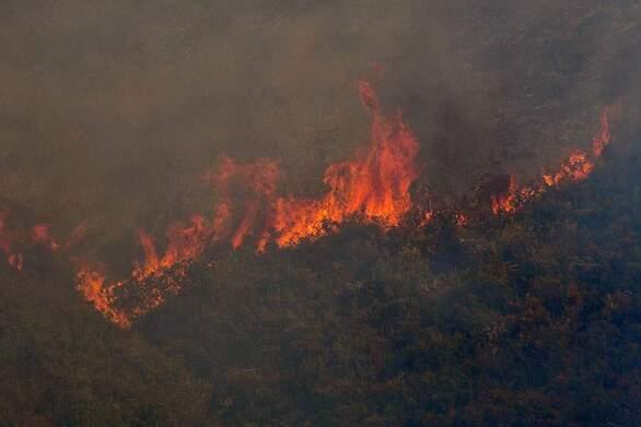 Μεγάλη φωτιά ξέσπασε στο Ρέθυμνο