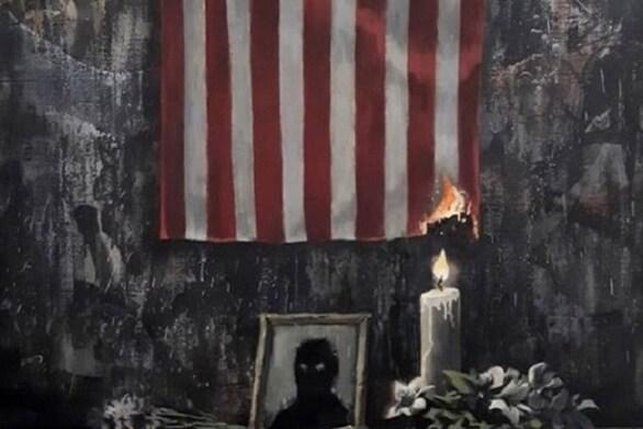 Banksy - Το συγκλονιστικό έργο του για τον Τζορτζ Φλόιντ (φωτο+βίντεο)