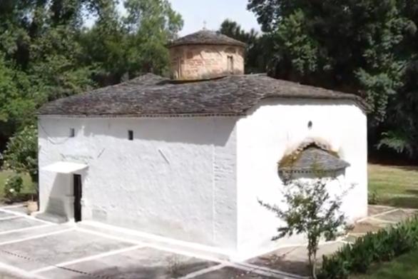Ο ιστορικός ναός του Αγίου Βαρνάβα στον Λούρο Πρέβεζας (video)