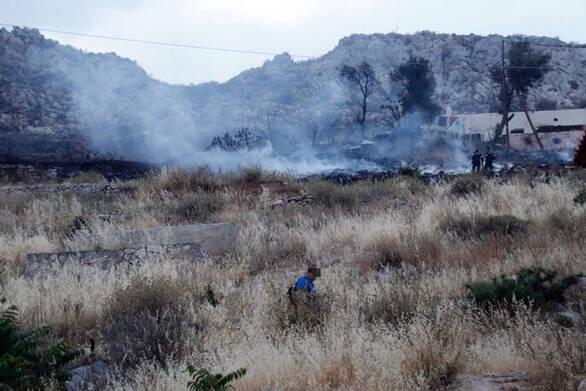 Άγιο Όρος - Σε ύφεση βρίσκεται η πυρκαγιά