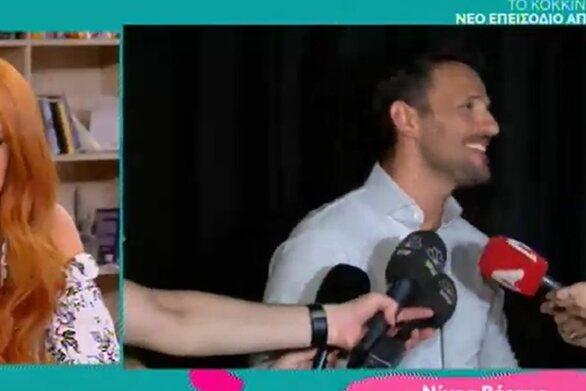 Νίκος Βέρτης: «Δε λέω συχνά τη λέξη σ'αγαπώ» (video)
