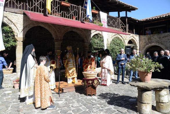 Ιερά Μητρόπολη Πατρών - Πανηγύρισε η Μονή των Αγίων Πάντων στην Τριταία