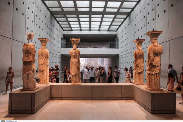 Τμήμα γλυπτού του Παρθενώνα στο Μουσείο της Ακρόπολης