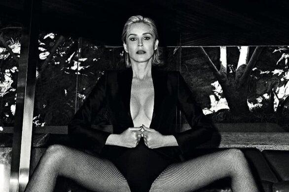 Σάρον Στόουν: Δεν αναγνωρίζει ούτε η ίδια τον εαυτό της στη ρετρό φωτογραφία