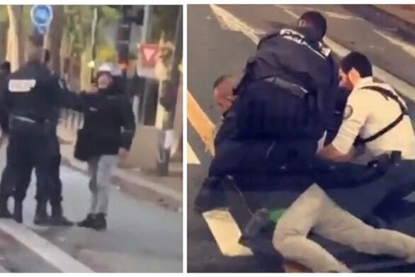 """Γαλλία: """"Δεν μπορώ να αναπνεύσω"""" φώναζε διανομέας-θύμα αστυνομικής βίας"""