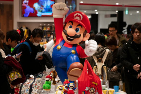 Το 2021 τα εγκαίνια του θεματικού πάρκου της Nintendo στην Οζάκα