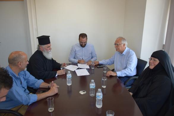 Αχαΐα: Βελτίωση πρόσβασης προς την Ιερά Μονή Μακελλαριάς