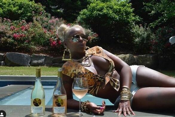 Η Mary J. Blige λανσάρει τη δική της ετικέτα κρασιού