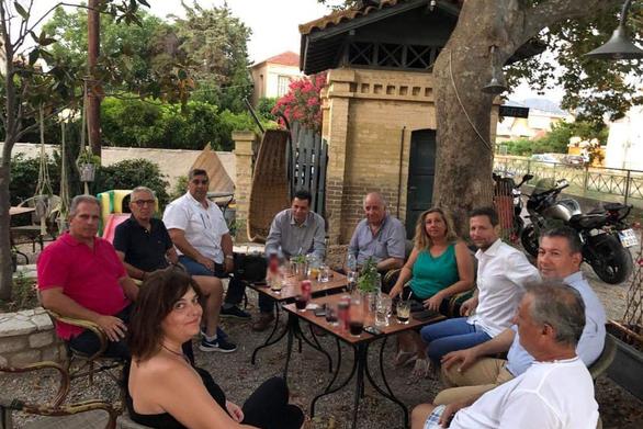 Πάτρα - Συνάντηση μελών του σπιράλ με το Τοπικό Συμβούλιο Ρίου