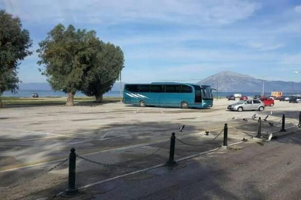 Πάτρα - Λεωφορείο ξεκίνησε ξανά να μεταφέρει επιβάτες από το «Γ. Καλεντζώτης»
