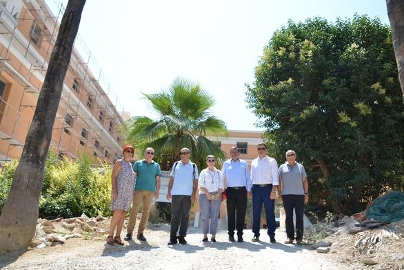 Πάτρα - Ο Γ.Γ. του Υπουργείου Πολιτισμού, Γ. Διδασκάλου συναντήθηκε με τον Κώστα Πελετίδη