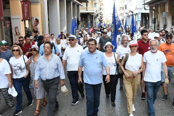 Πάτρα: Ικανοποίηση στη Μαιζώνος για την πορεία για το σύγχρονο τρένο (φωτο)