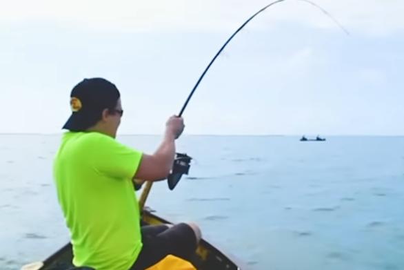 Ψαράδες σε κανό δέχονται επίθεση από ταυροκαρχαρία (video)