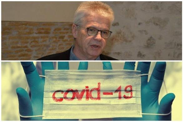 Χαράλαμπος Γώγος: «Δεν πρέπει να μας ανησυχεί η αερόβια μετάδοση του κορωνοϊού» (video)